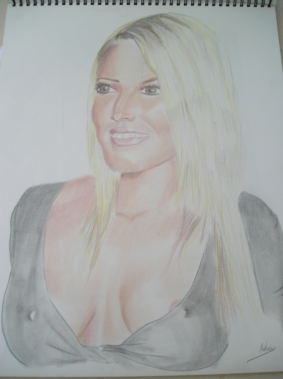 Jessica Simpson by rouby